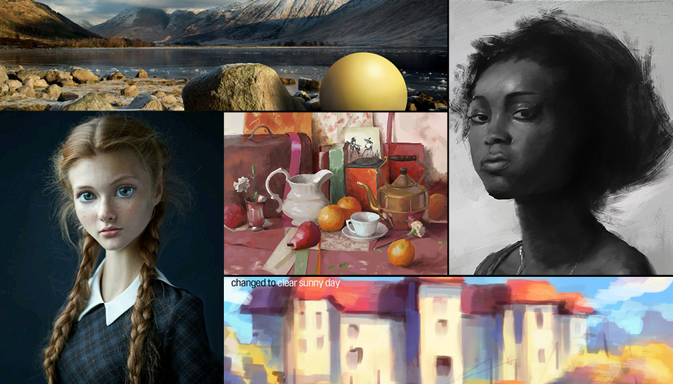 Check out the Top Art Pieces from Students at CGMA!