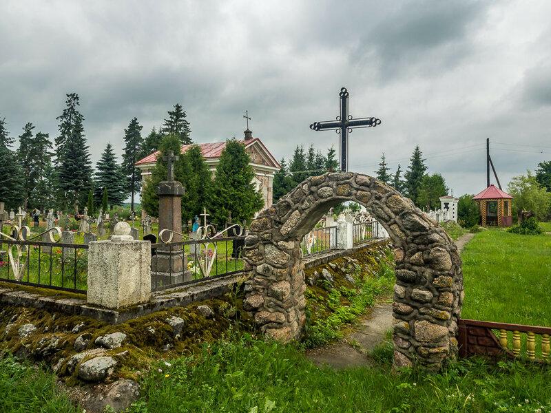 На кладбище Козловщины