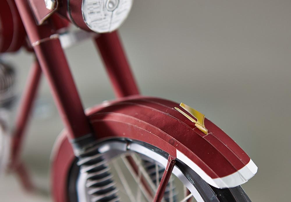 Yamaha Papercraft: Бумажный мотоцикл Yamaha YA-1