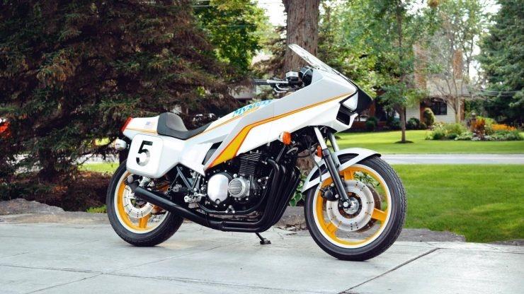 Мотоцикл Kawasaki Mystery Ship 1980