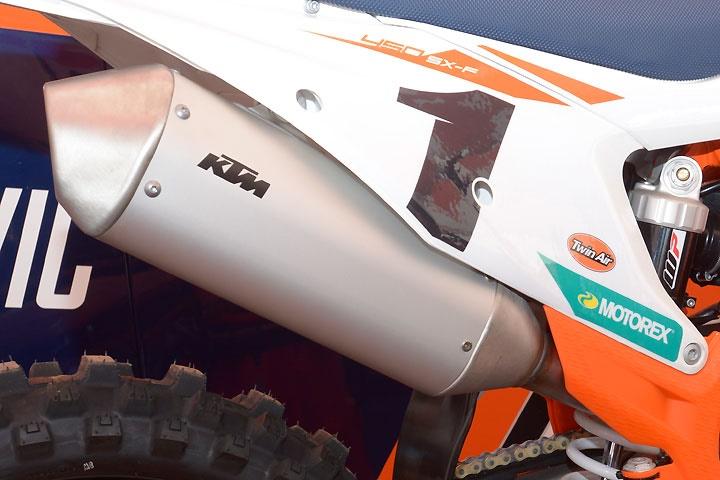 Гоночный кроссбайк KTM 450 SX-F Factory Edition 2018
