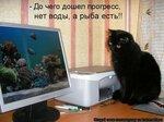 До чего дошёл прогресс - нет воды, а рыба есть!.jpg