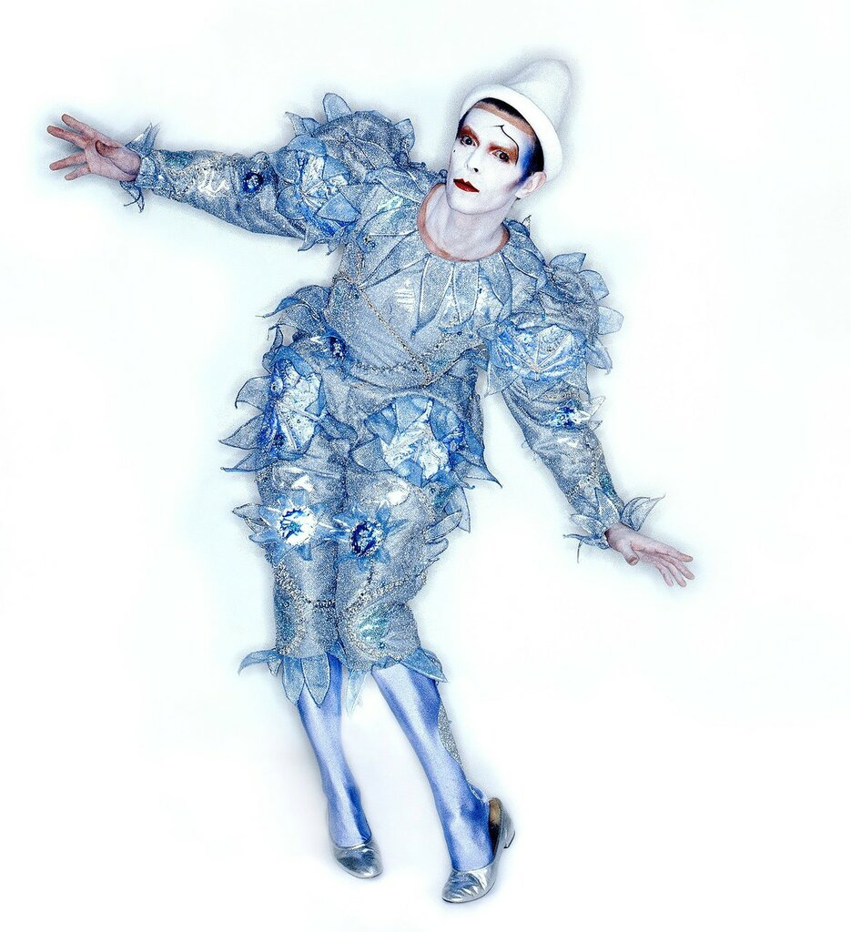 David Bowie Scary Monsters Colour Clown