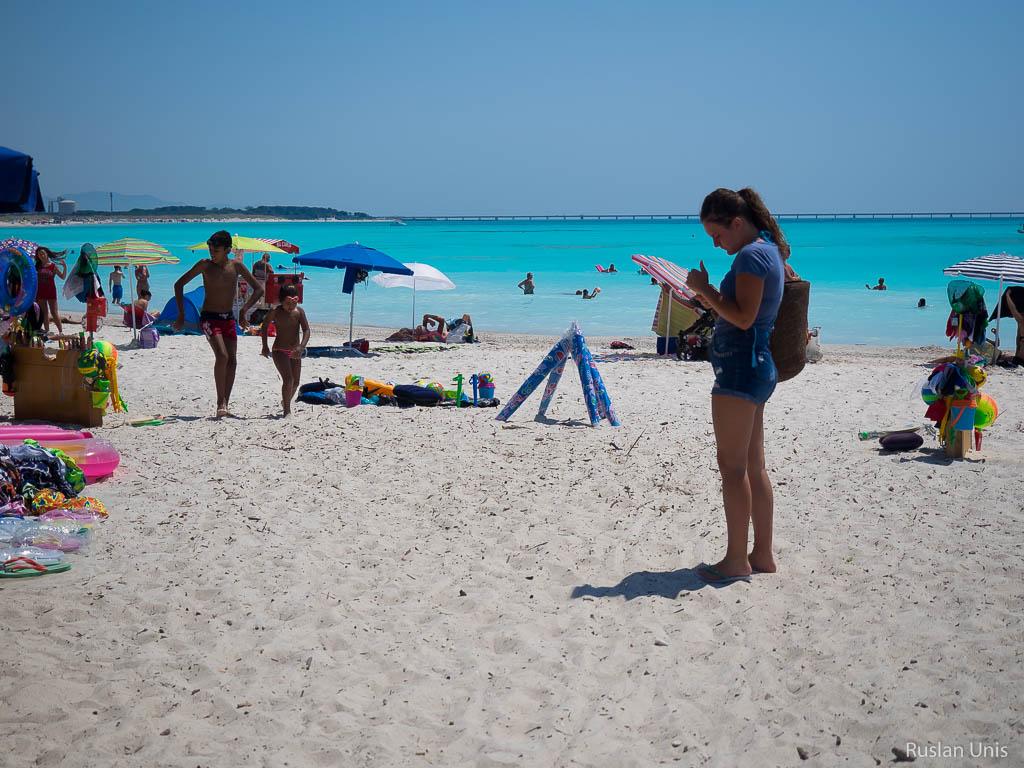 Пляж Италия