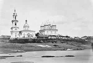 Покровский собор, вид с Волги