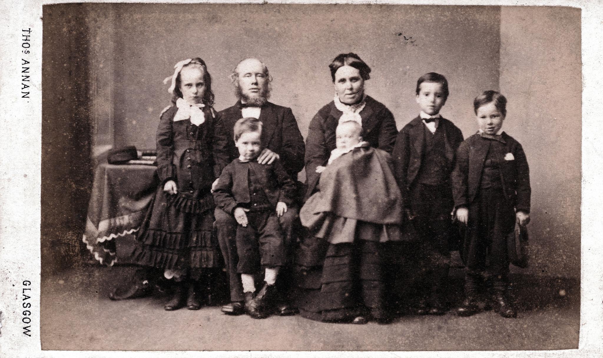 1859. Шотландская семья