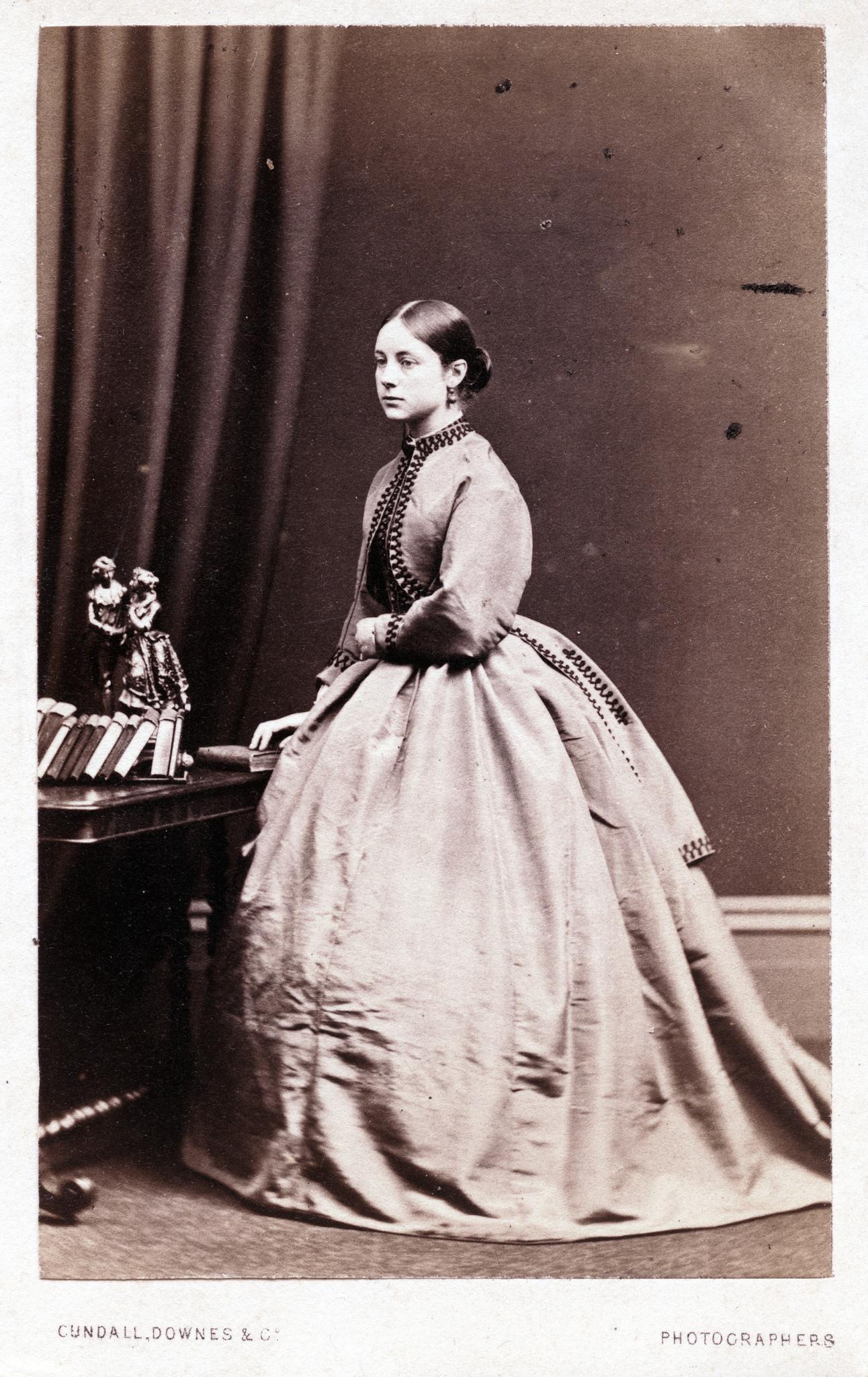 1860. Молодая женщина