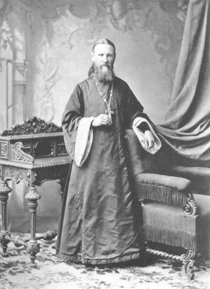 Отец Иоанн Ильич Сергиев