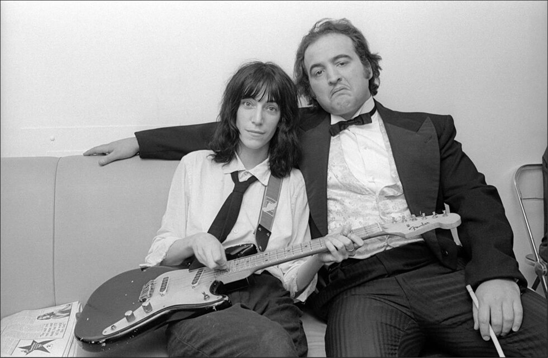 1976. Пати Смит и Джон Белуши
