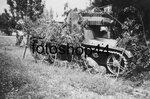 Замаскированный танк Т-26 обр. 1933 г. Испания.