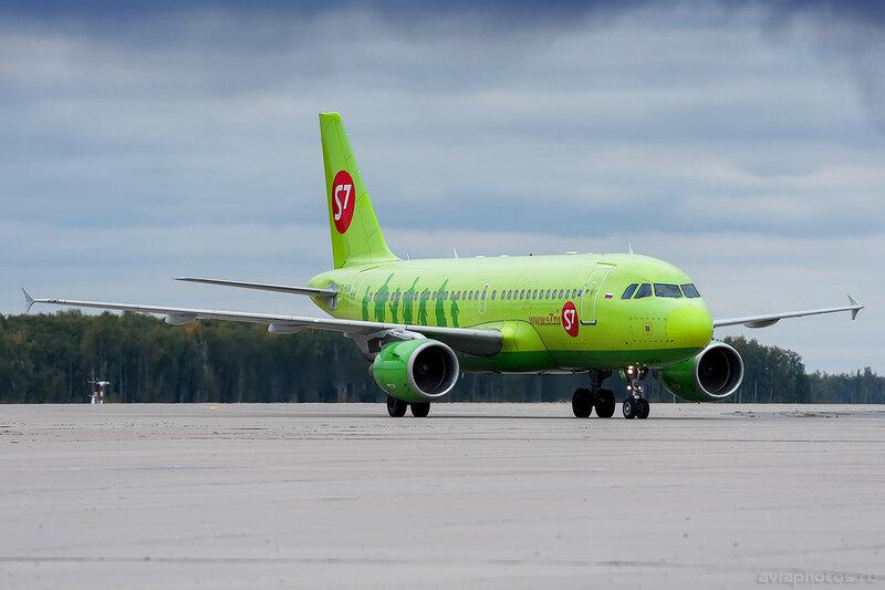 Airbus A319-115(LR) (VQ-BQW) S7 0081_D706505