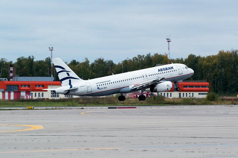 Airbus A320-232 (SX-DVX) Aegean 0062_D805493