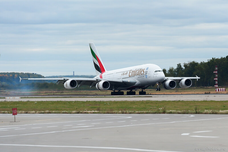 Airbus A380-861 (A6-EDC) Emirates 0135_D706521