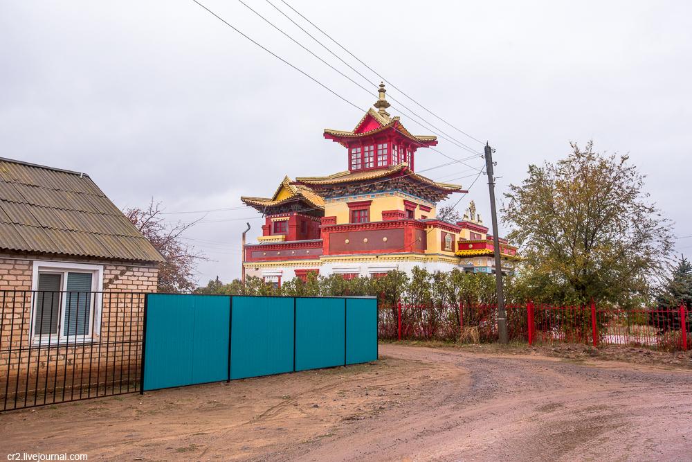 Первый хурул в Калмыцкой степи