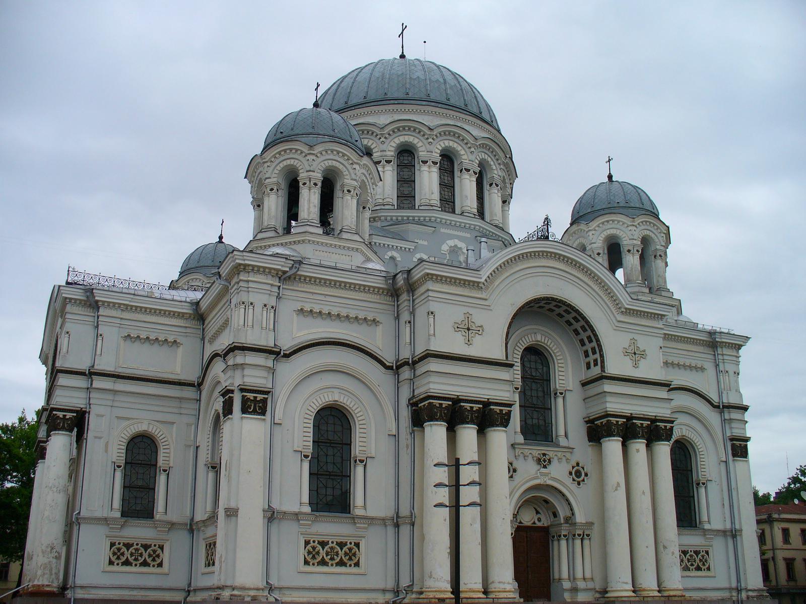 Православный собор в Литве.