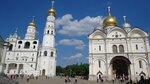 Колокольня Ивана Великого и Архангельский собор