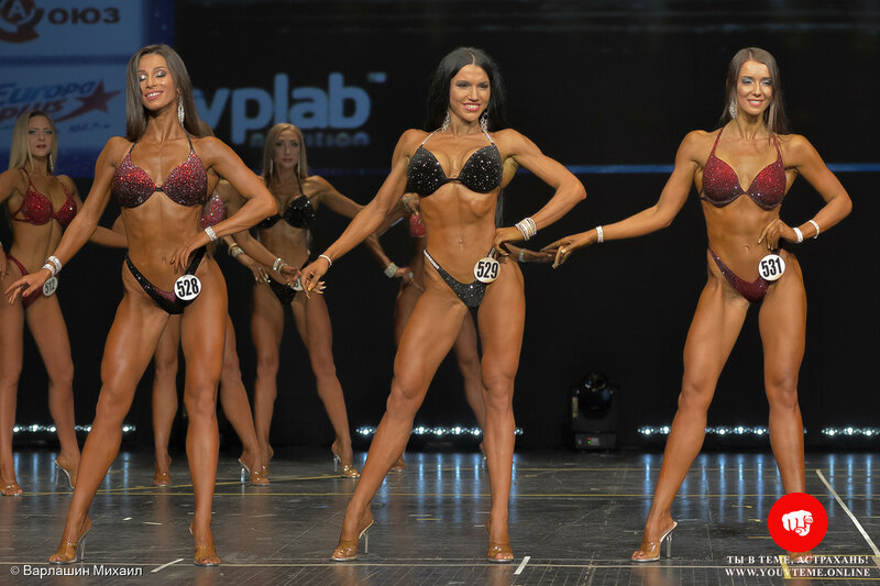 Категория: Фитнес-бикини 169см. Чемпионат России по бодибилдингу 2017