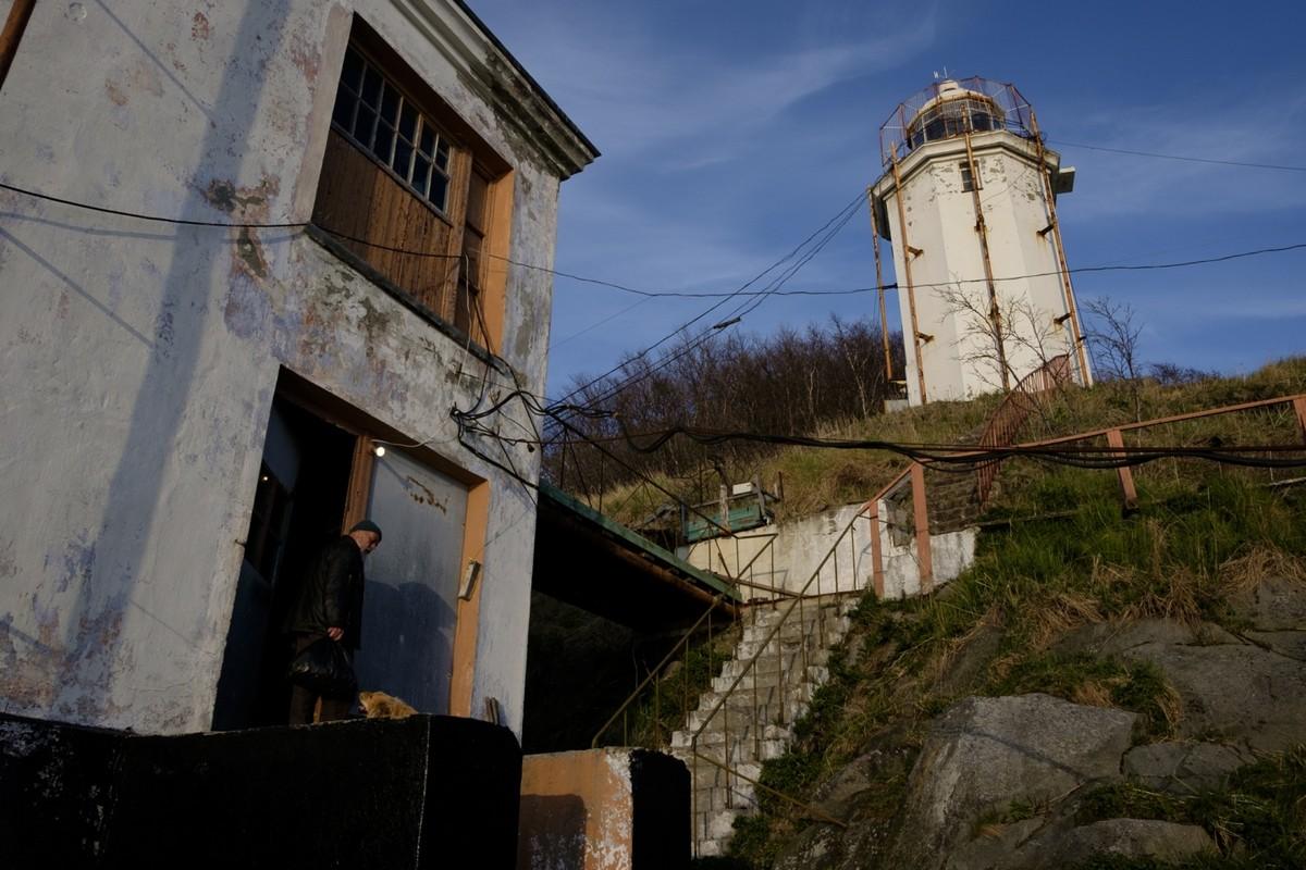 Смотритель маяка Николай