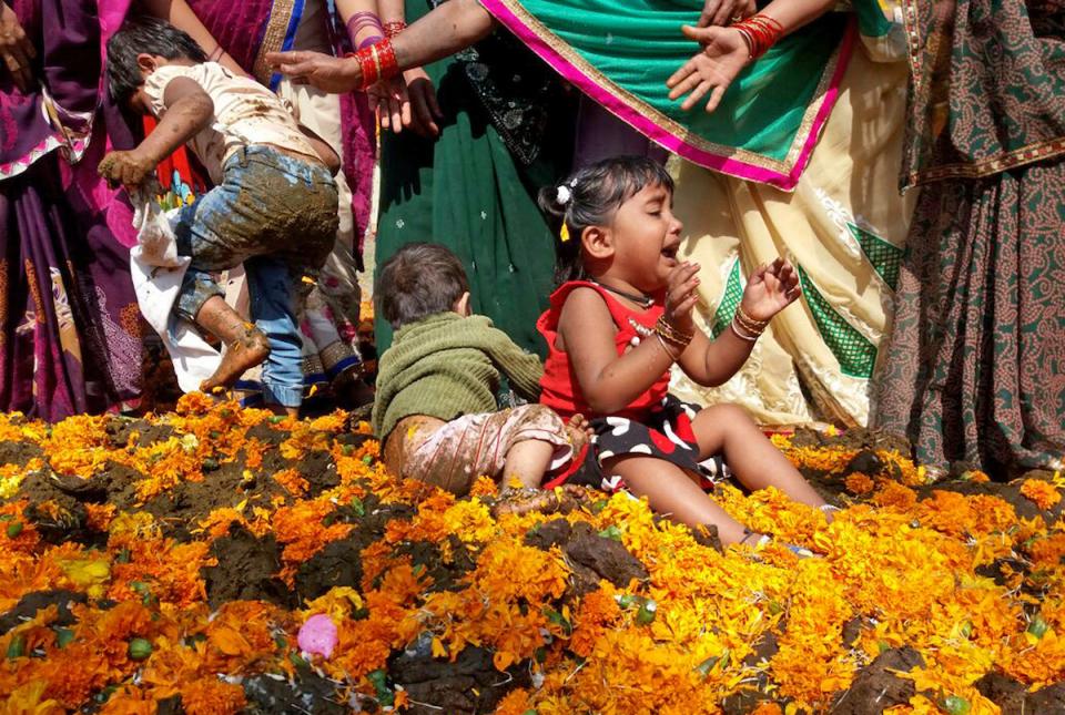 Что происходит в индии с детьми фото