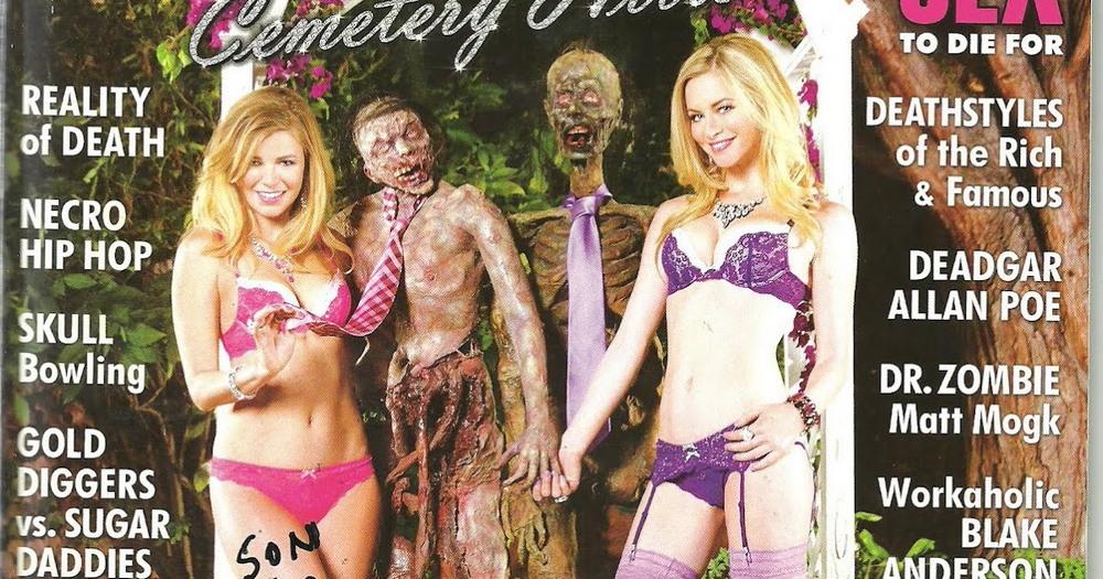 Girls and Corpses: эротический журнал для фанатов зомби
