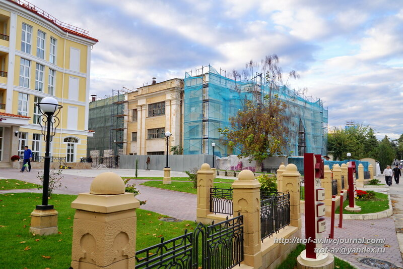 Клуб санатория Восход, Феодосия