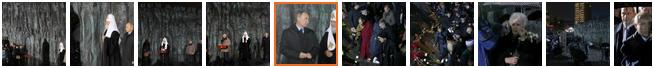 Фоторепортаж- Владимир Путин принял участие в церемонии открытия мемориала Стена скорби в Москве