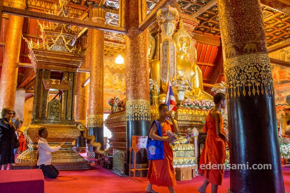 Таиланд Нан храм Пхумин