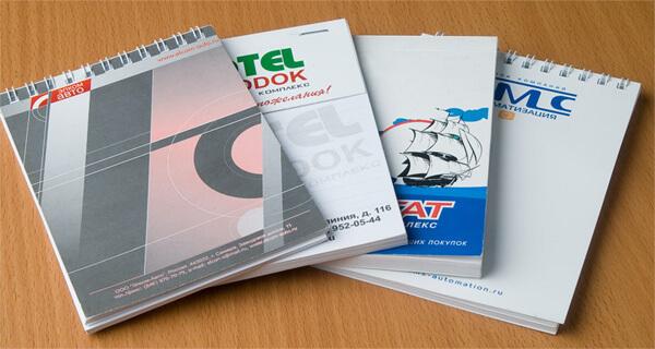 Красивый блокнот из качественной бумаги — приятный сувенир для коллег, клиентов и партнеров (2 фото)