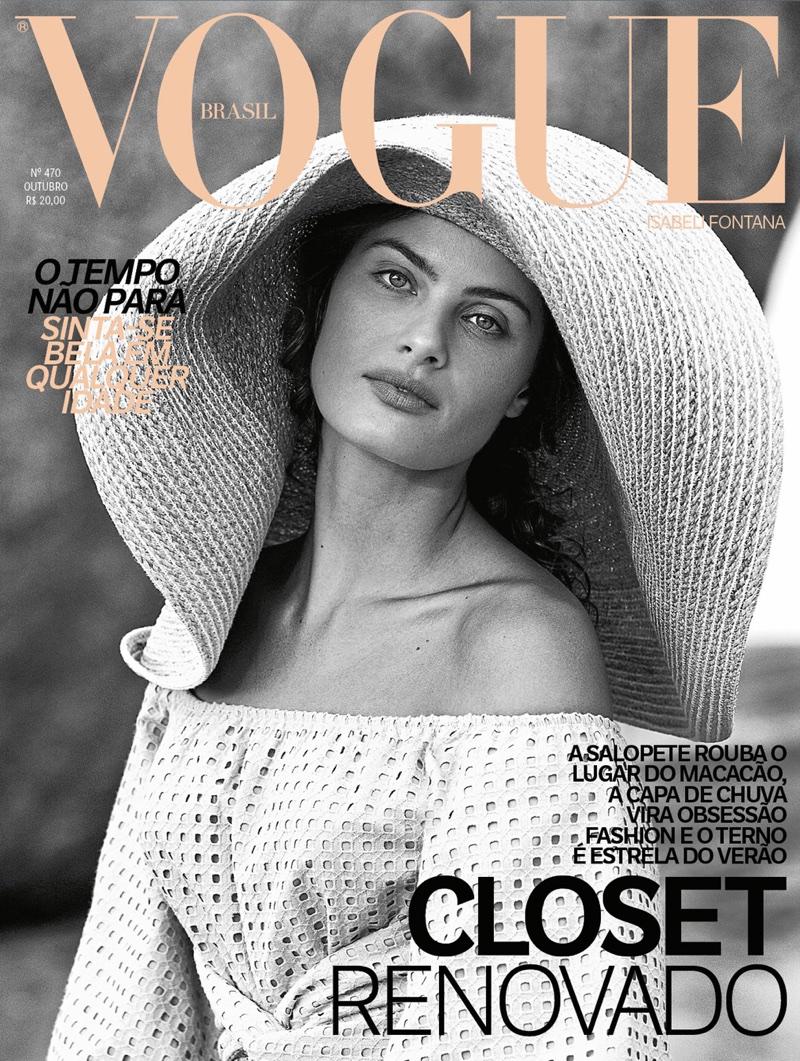 Изабели Фонтана для Vogue Brazil (10 фото)