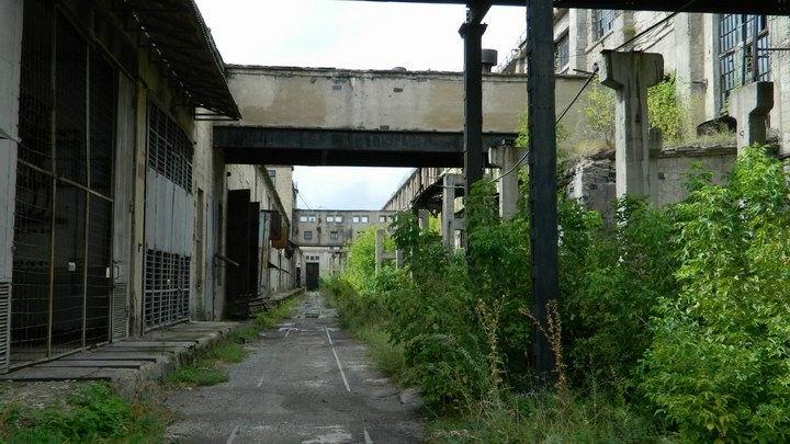 Несуществующий поселок у мертвой электростанции. Штергрэс.