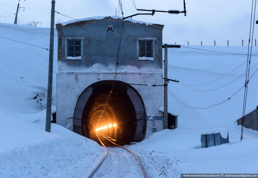 Внутри. Подземная красота. Тоннель по плану вскоре должны будут реконструировать: