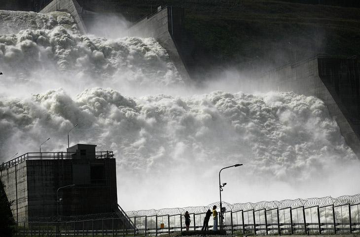 Река Енисей (28 фото)