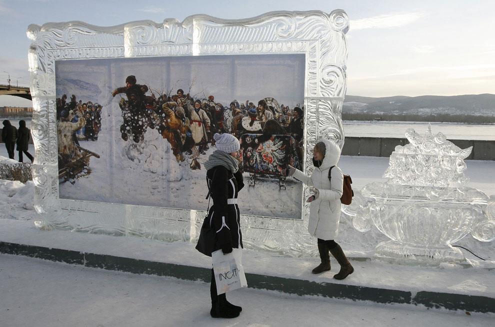 Создание скульптуры великого итальянского живописца, архитектора Микеланджело, 17 января 2013: