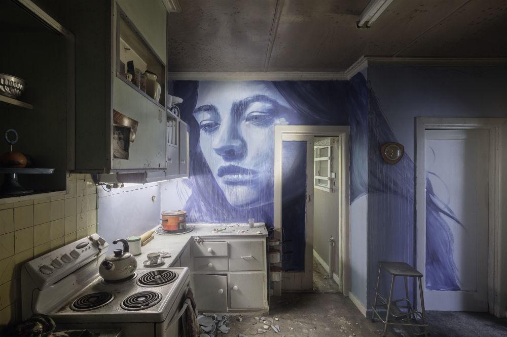 Красота улиц: уличный художник вдыхает жизнь в руины
