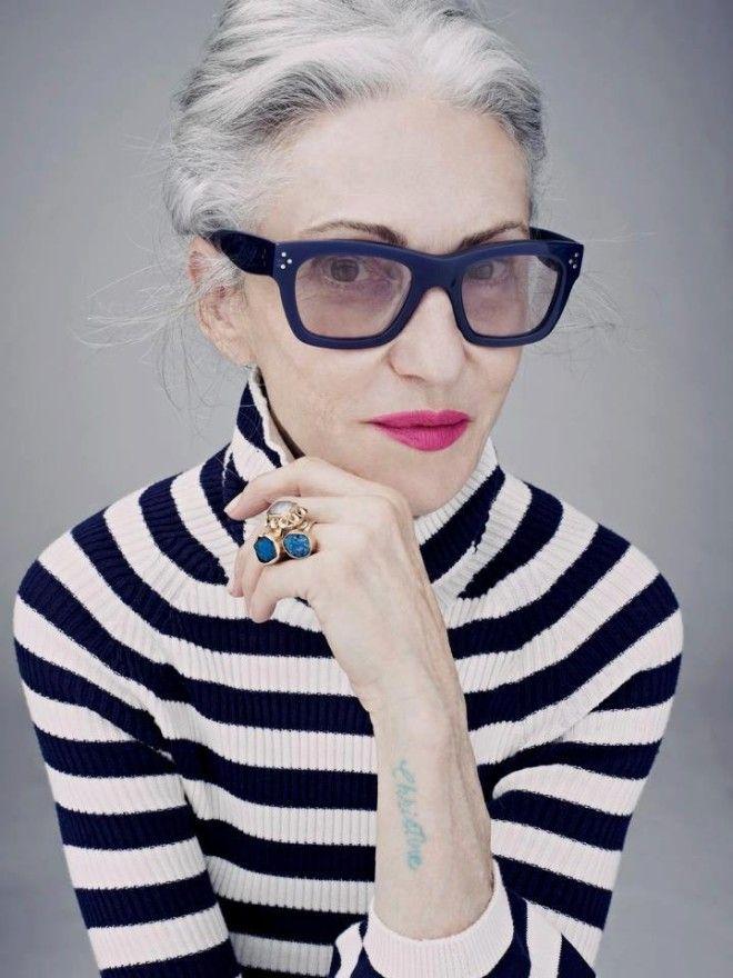 Ее называют самой стильной пенсионерской Нью-Йорка. Линда Родин — бывшая мод