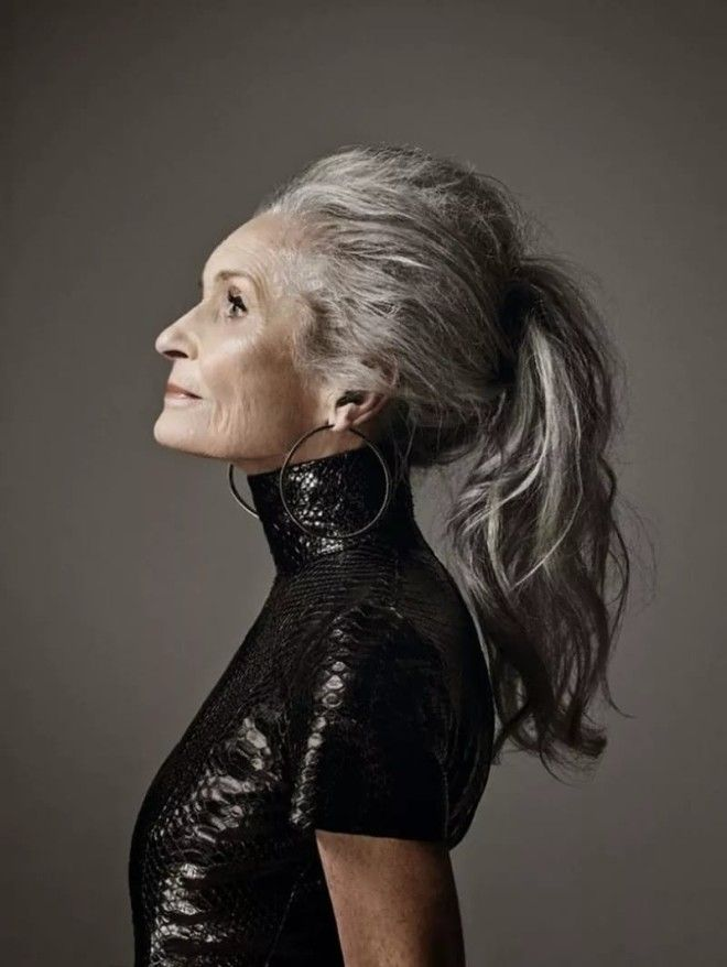 Дафна — самая старая возрастная модель в мире. Однако, глядя на нее, даже не