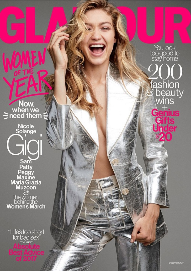 Джиджи Хадид на обложке Glamour