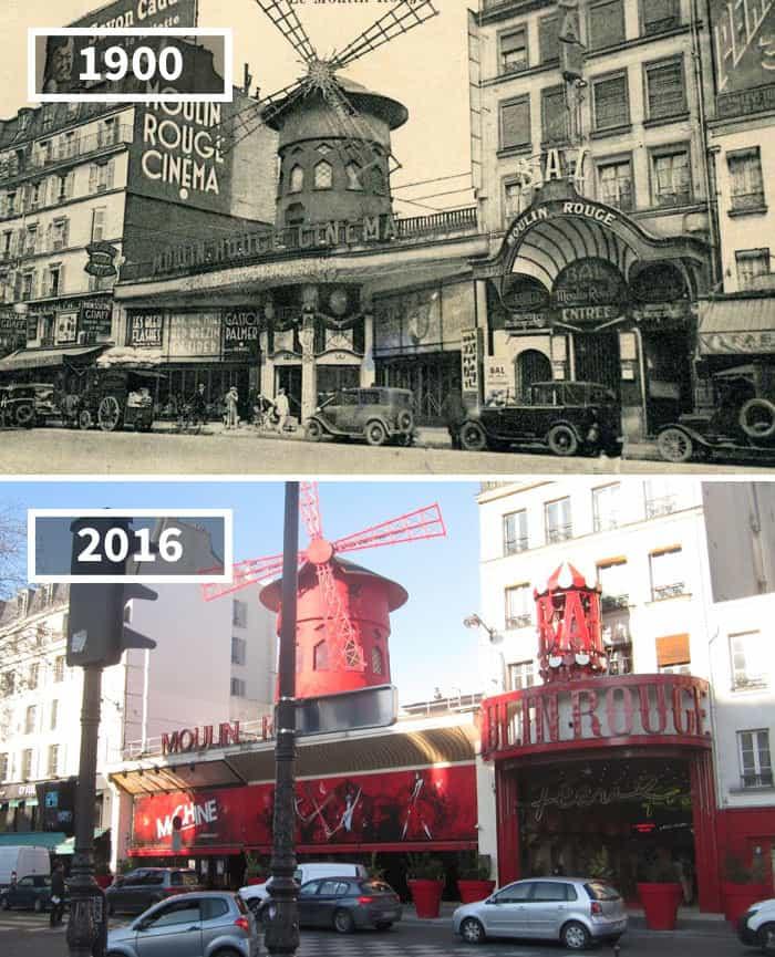 10. Эйфелева башня, Париж, Франция, 1910 — 2016