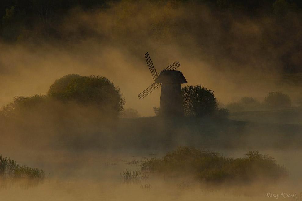 17. Мне очень нравятся снимки с туманом, а поздней весной они тут не редкость.