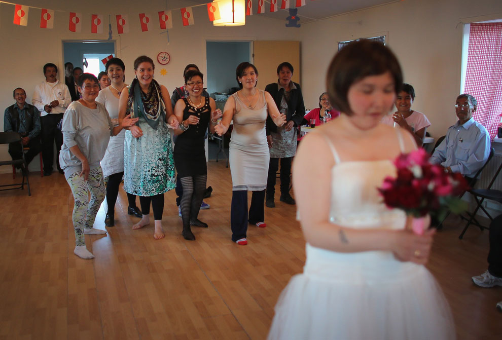 Танцы по-гренландски, 20 июля 2013. (Фото Joe Raedle | Getty Images):