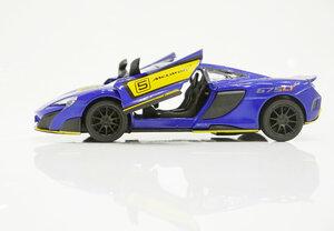Машинка металлическая Kinsmart McLaren 675LT Exclusive Edition