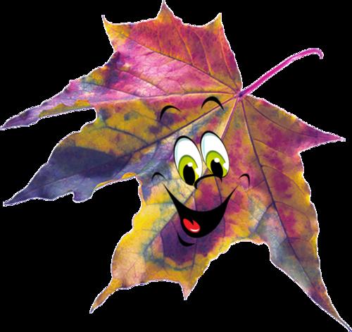 экскаватор картинки красивые осенние листья с глазками это