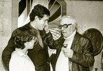 Стас Садальский и Лев Ошанин, 14 октября 1981 года. Фото М.Пазий