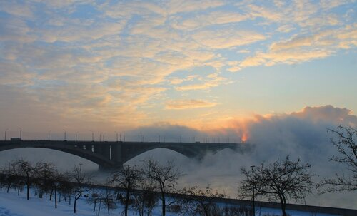 Рассвет сквозь туман
