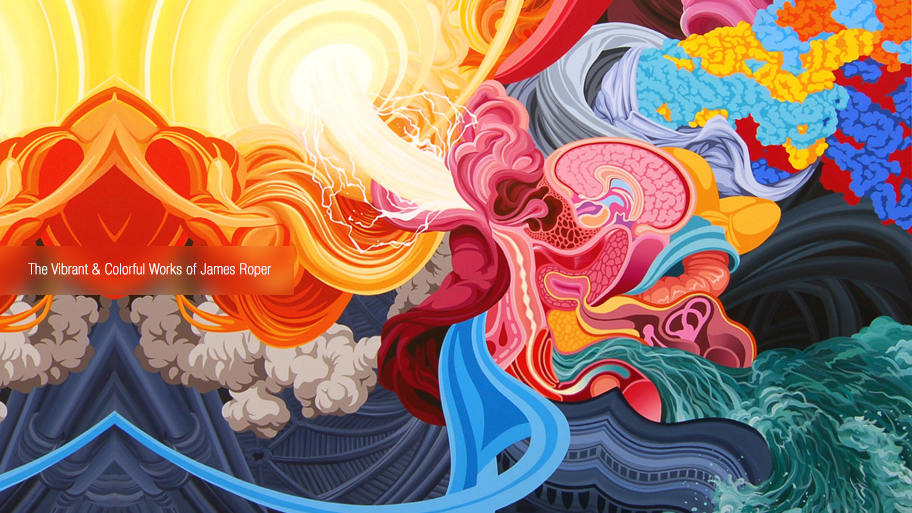 The Vibrant & Colorful Works of James Roper (21 pics)