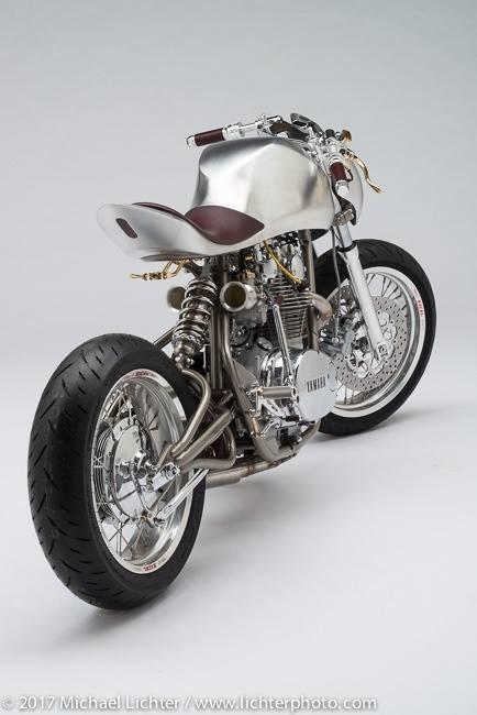 Baresteel Design: кастом Yamaha XS650 Manta