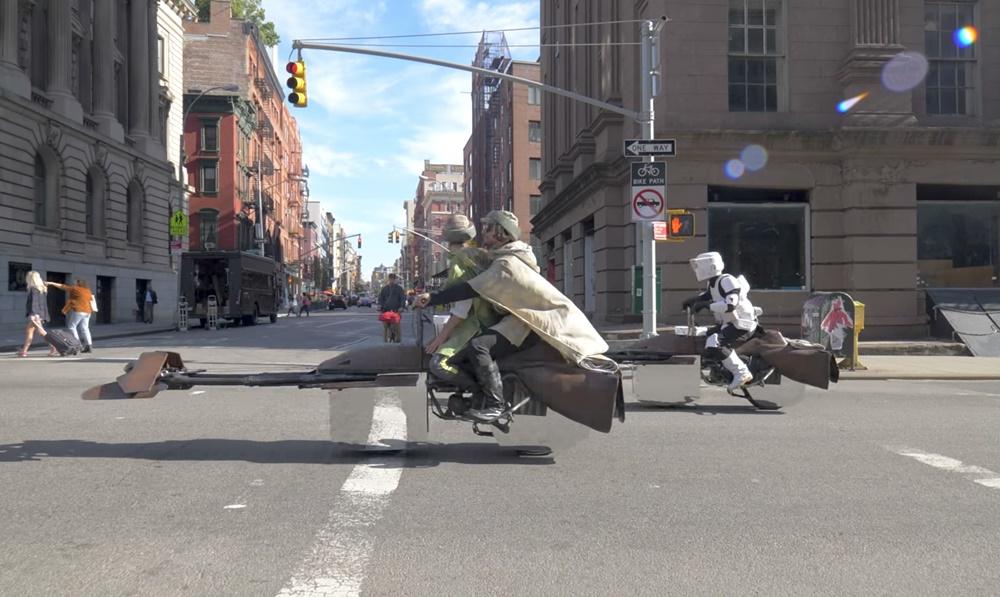 Хэллоуин-байк Star Wars Speeder
