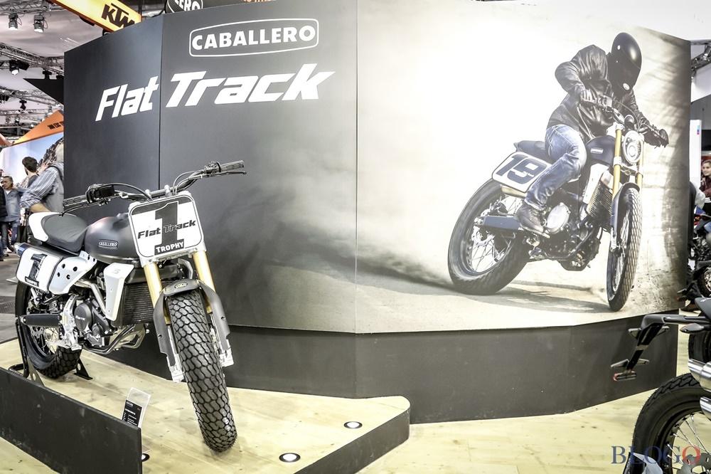 EICMA 2017: новые мотоциклы Fantic Motor Caballero Scrambler / Flat Tracker 2018