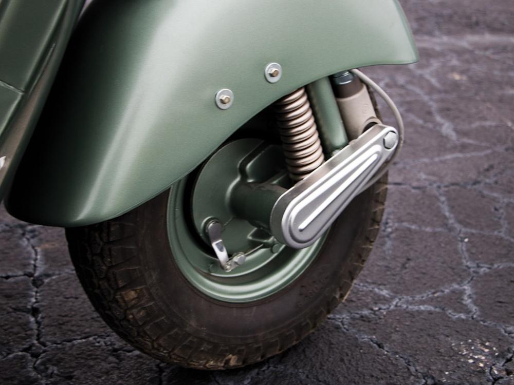 Трицикл Piaggio Ape Calessino 1953