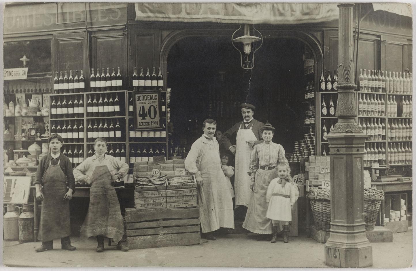 1904. Винный магазин. Дом Моро